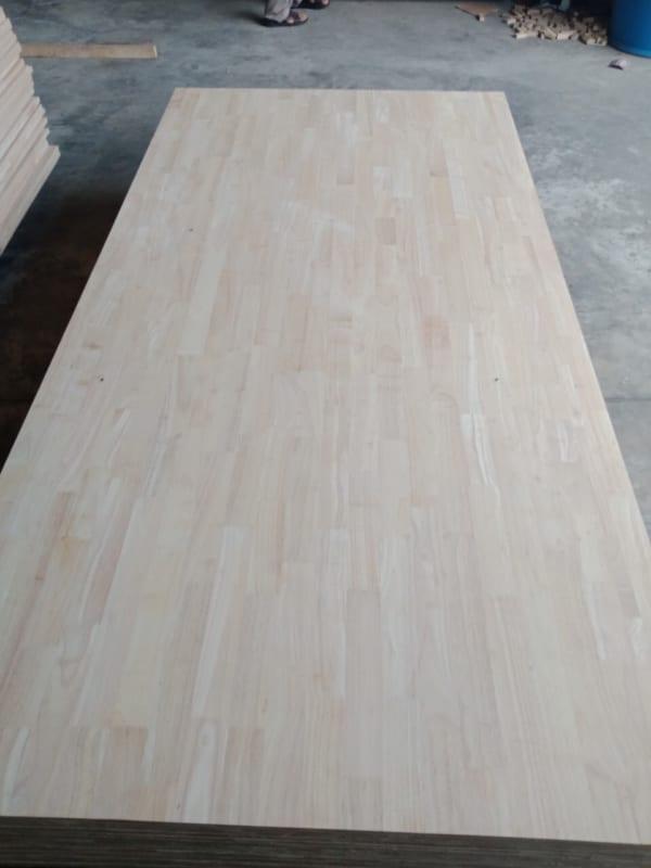 gỗ ghép thanh cao su